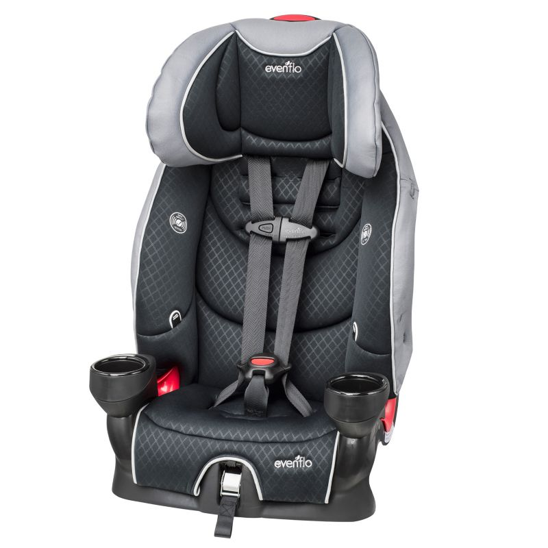 Evenflo Securekid LX Booster Car Seat, Multicolor