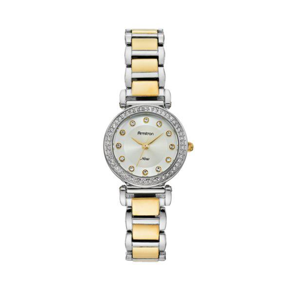 Armitron Women's Two Tone Stainless Steel Watch - 75/5259SVTT
