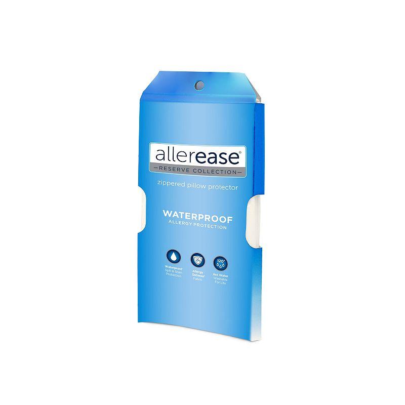 Allerease Waterproof Allergy Protection Pillow Protector - Standard / Queen