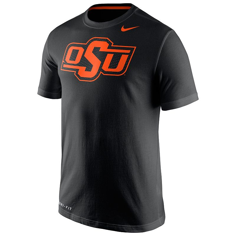 Men's Nike Oklahoma State Cowboys Travel Dri-FIT Cotton Tee