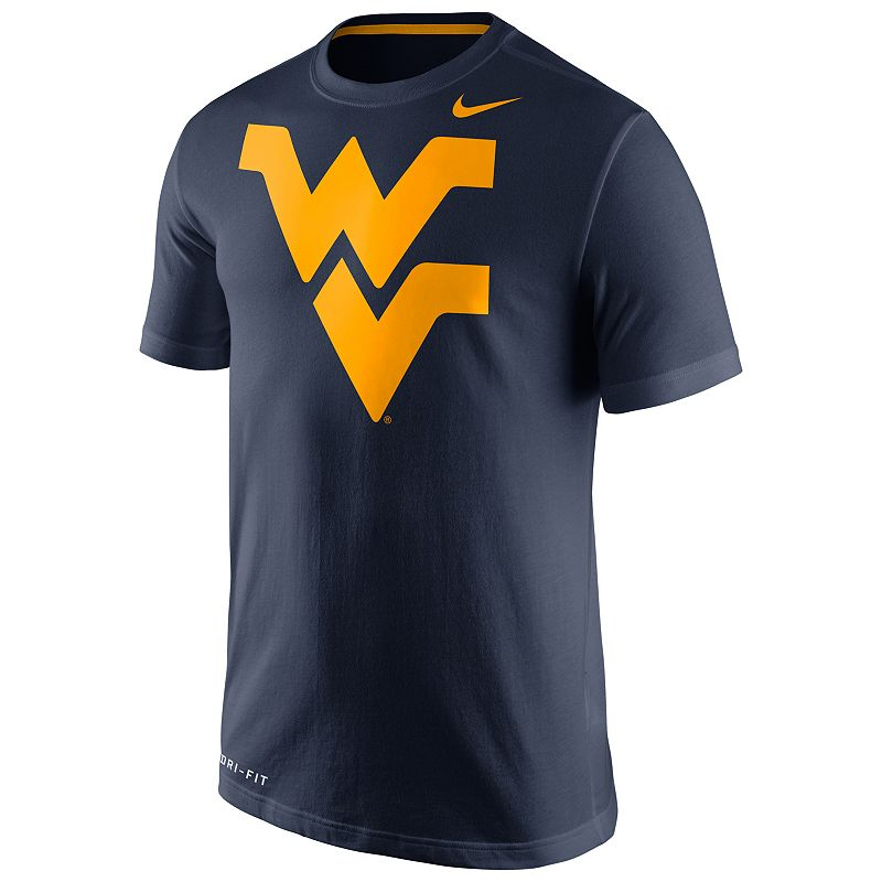 Men's Nike West Virginia Mountaineers Travel Dri-FIT Cotton Tee