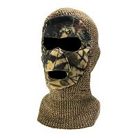 Youth QuietWear Camo Face Mask