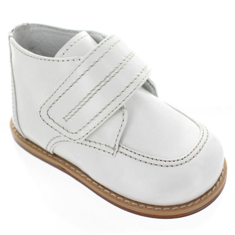 Josmo Baby / Toddler Boys' Leather Boots, Size: 2T, White thumbnail