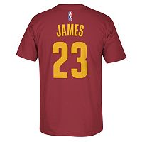 adidas Cleveland Cavaliers LeBron James Tee - Men