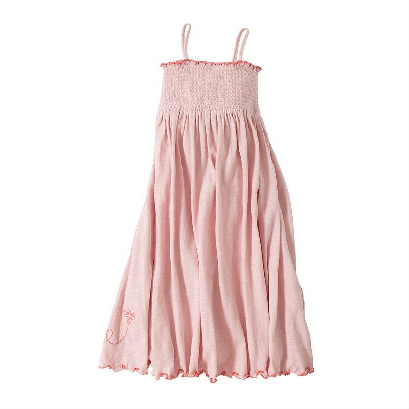 Toddler Girl Burt's Bees Baby Organic Knit Maxi Dress