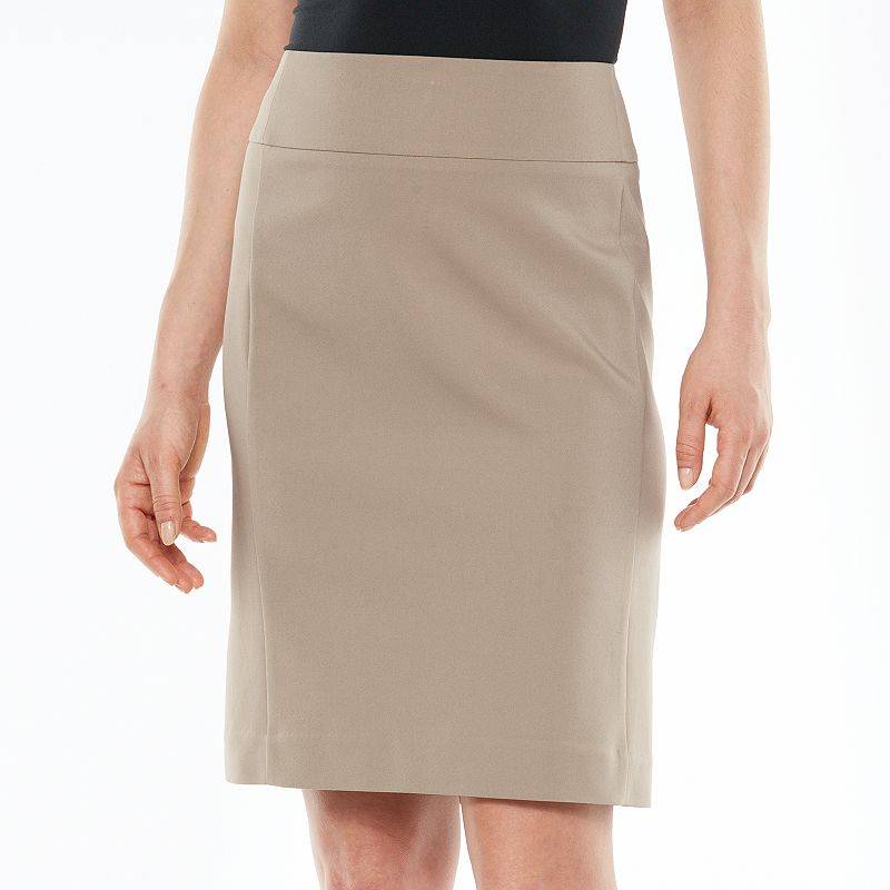 Women's Apt. 9® Solid Pencil Skirt