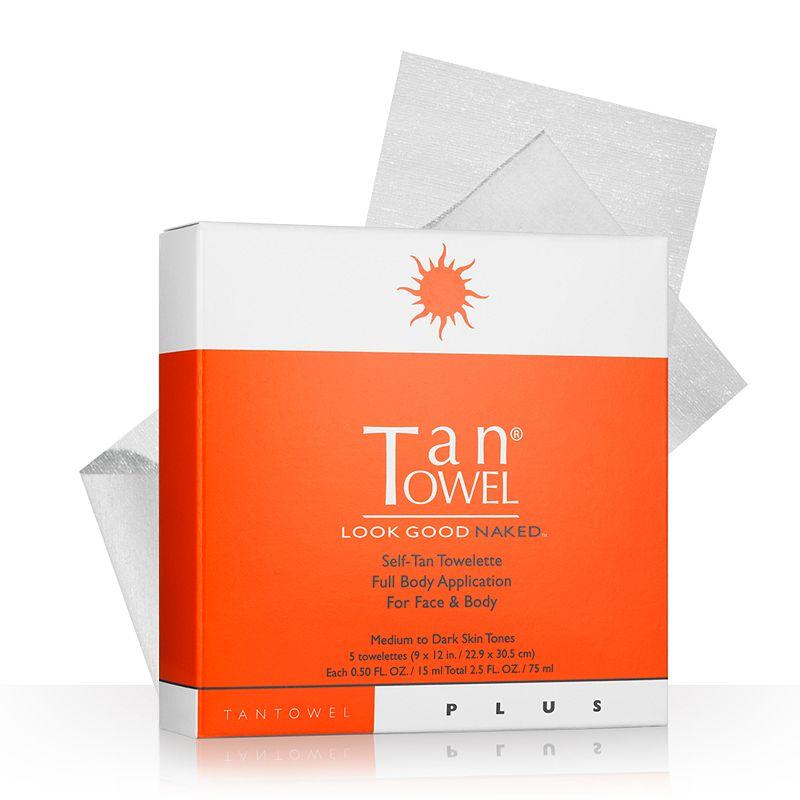 TanTowel 5-pk. Plus Self-Tan Towelettes Full Body Application
