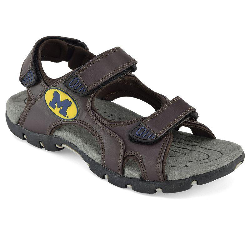 Men's Michigan Wolverines Sandals