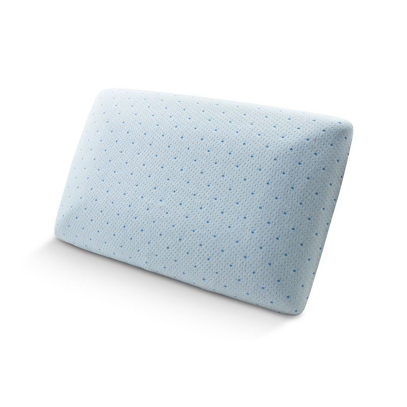Tempure-Rest Cool-Blue Memory Foam Conventional Pillow - Standard