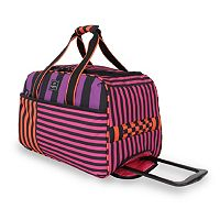 French West Indies 20-Inch Rolling Duffel Bag