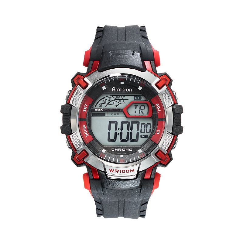 Armitron Men's Sport Digital Chronograph Watch - 40/8312RED