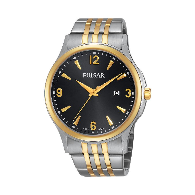 Pulsar Men's Two Tone Stainless Steel Watch - PH9076