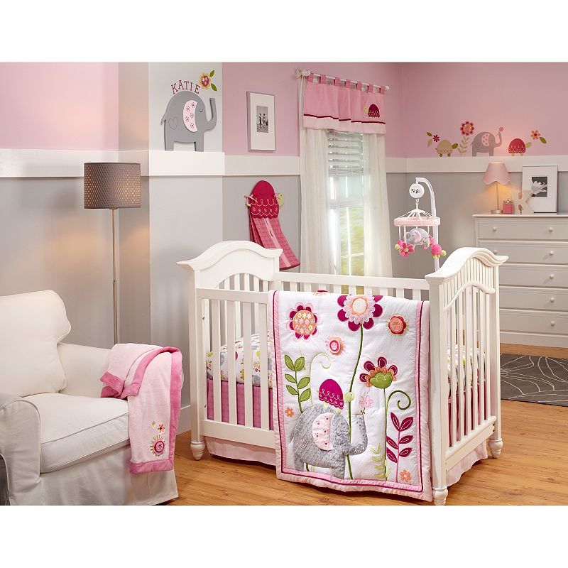 NoJo Jumbo Joy 4-pc. Crib Bedding Set
