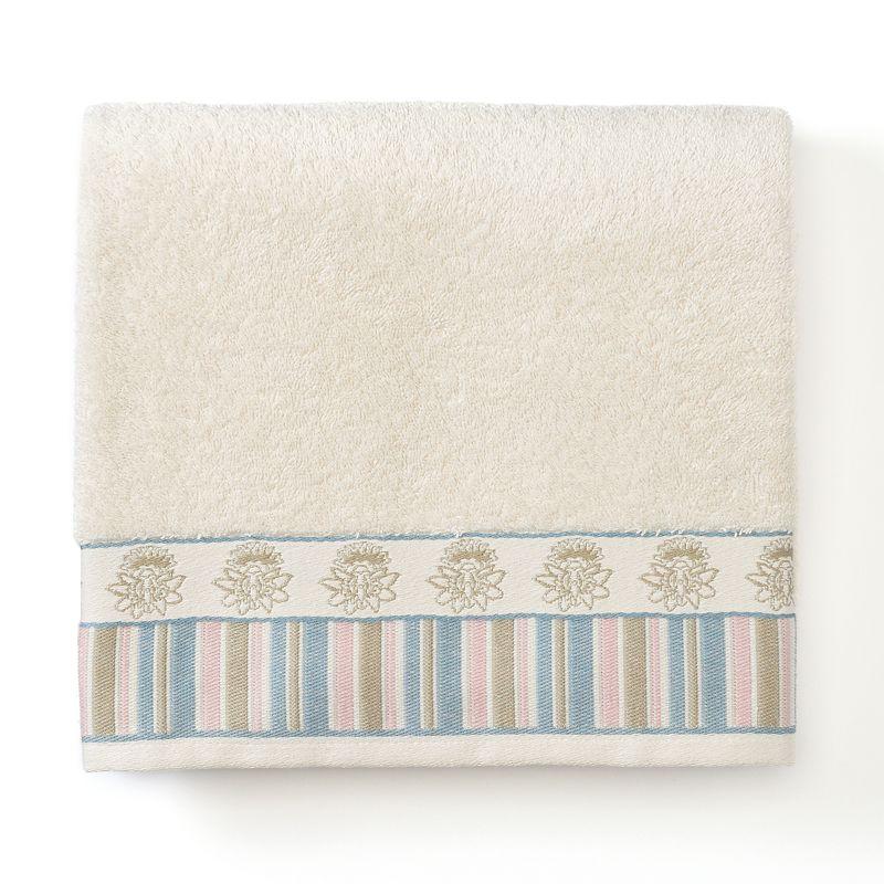 Excell Abigail Stripe Jacquard Bath Towel