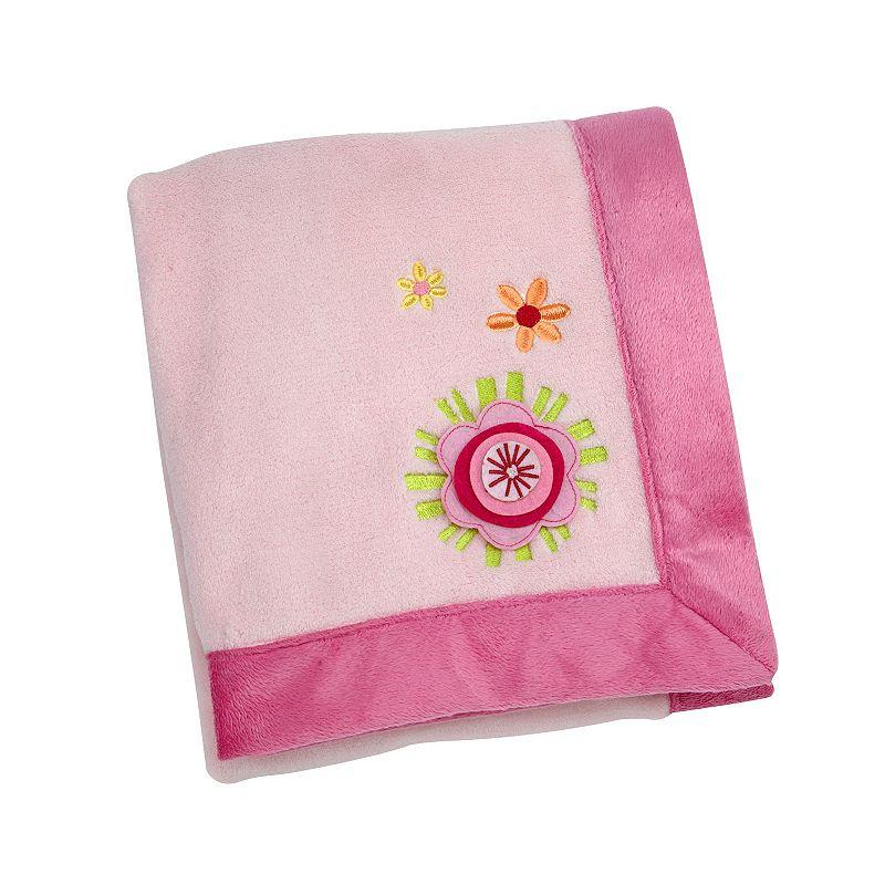 NoJo Jumbo Joy Flower Blanket