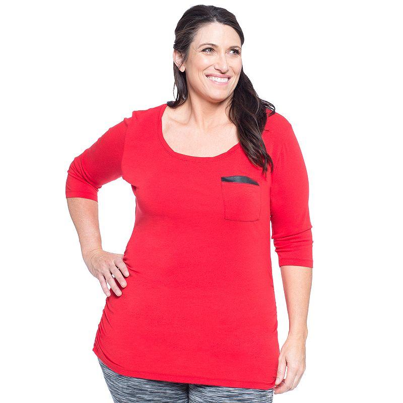Plus Size Soybu Alyse Melissa Scoopneck Tee