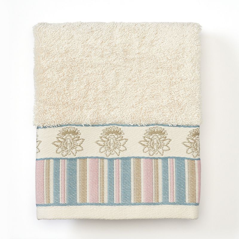 Excell Abigail Stripe Jacquard Hand Towel