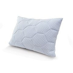 Arctic Sleep by Pure Rest Cooling Gel Memory Foam & Down-Alternative Loft Pillow by