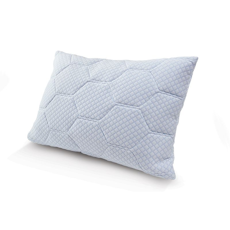 Tempure-Rest Cooling Gel Memory Foam and Down-Alternative Loft Pillow