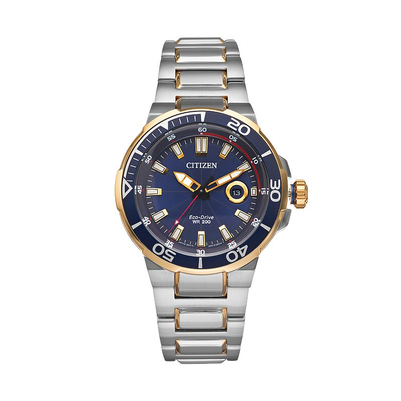 Citizen Eco-Drive Men's Endeavor Two Tone Stainless Steel Watch - AW1424-54L