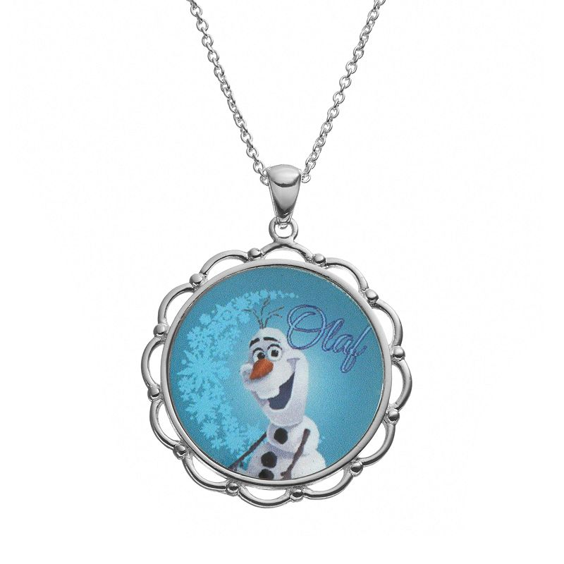 Disney's Frozen Olaf Silver-Plated