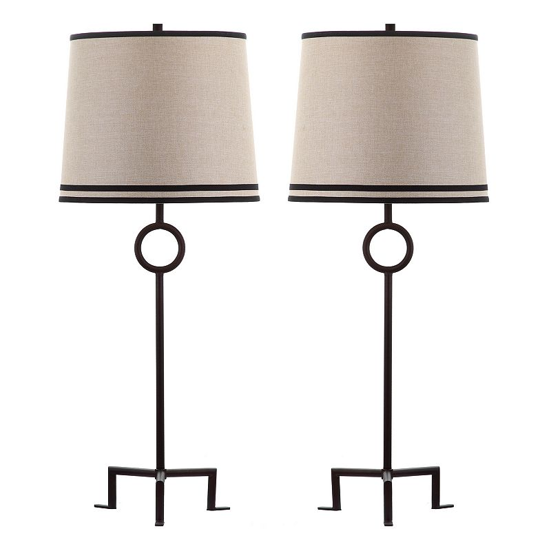 Safavieh 2-piece Shotwell Table Lamp Set