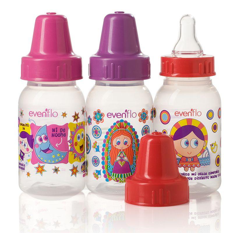 Evenflo Feeding 3-pk. Distroller 4-oz. Baby Bottles