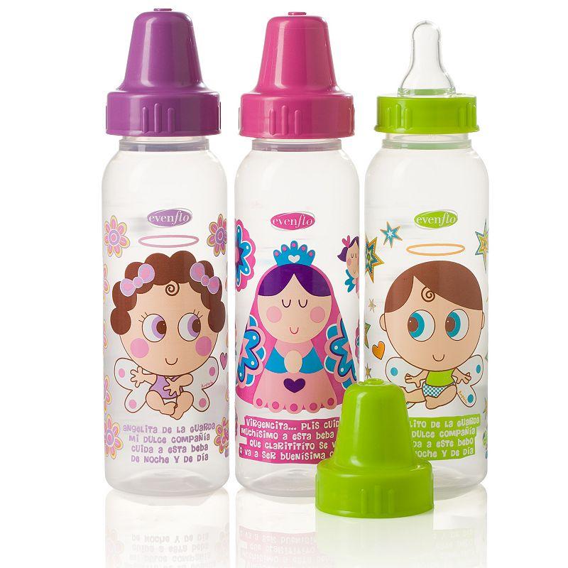 Evenflo Feeding 3-pk. Distroller 8-oz. Baby Bottles