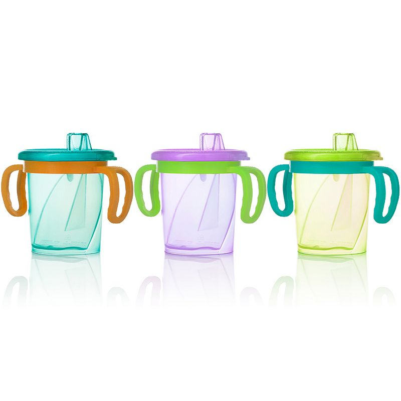 Evenflo Feeding 3-pk. 7-oz. TripleFlo Tilty Trainer Cups