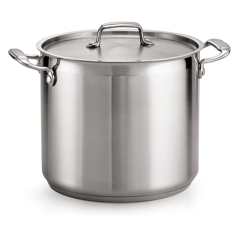 Tramontina Gourmet Tri-Ply Base Stainless Steel 12-qt. Stockpot
