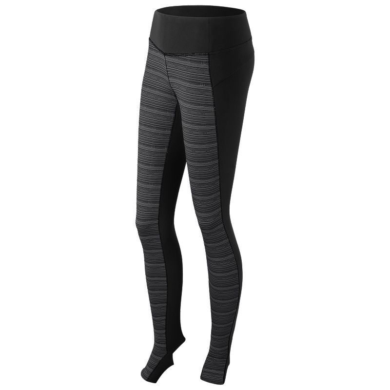 Women's New Balance Studio Yoga Pilates Barre Footed Tights