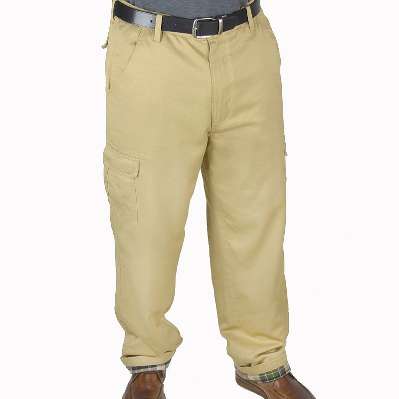 Men's Stanley Flannel-Lined Cargo Pants