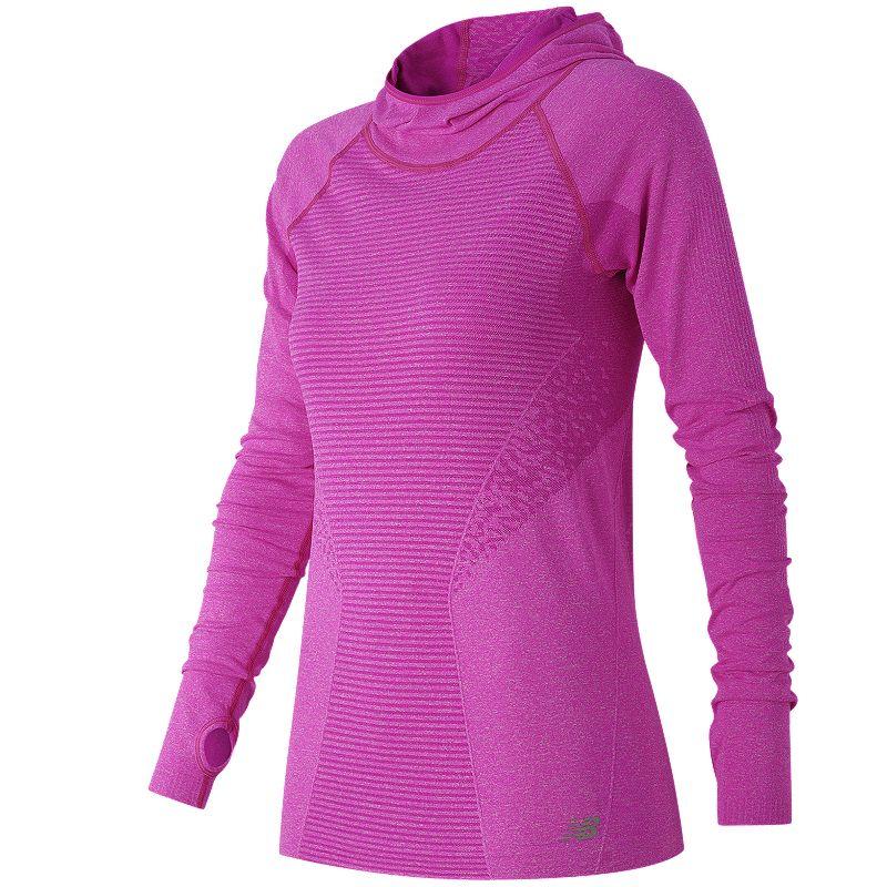 Women's New Balance M4M Seamless Running Hoodie