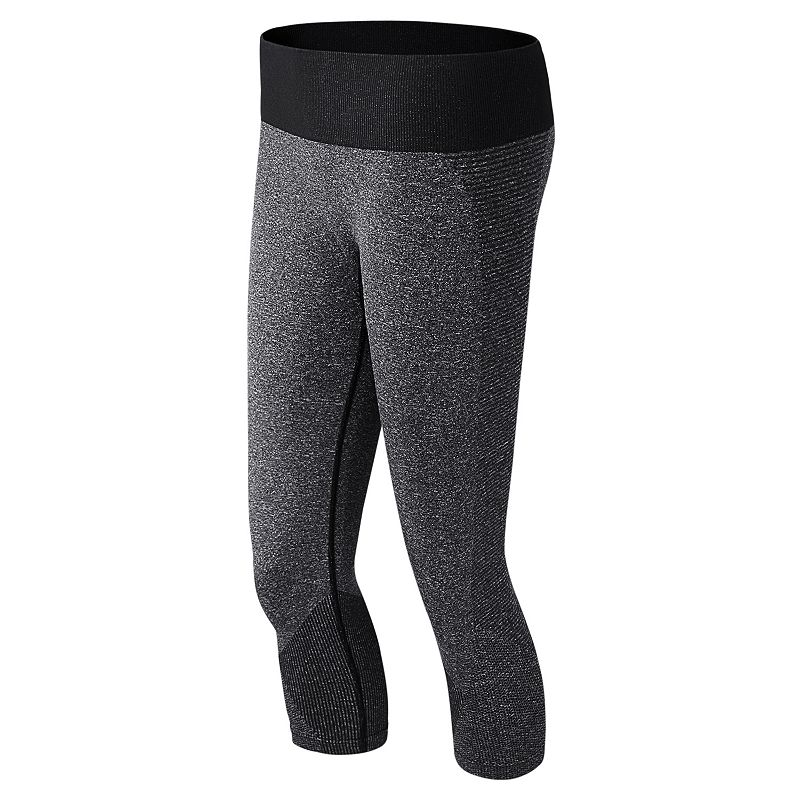 Women's New Balance M4M Seamless Capri Running Leggings