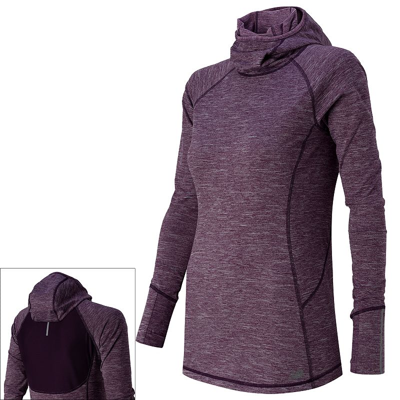 Women's New Balance NB Heat Workout Hoodie