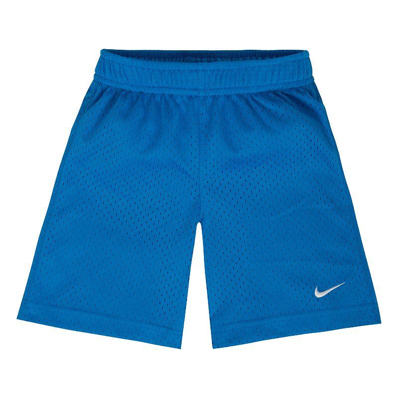 Toddler Boy Nike Solid Mesh Shorts