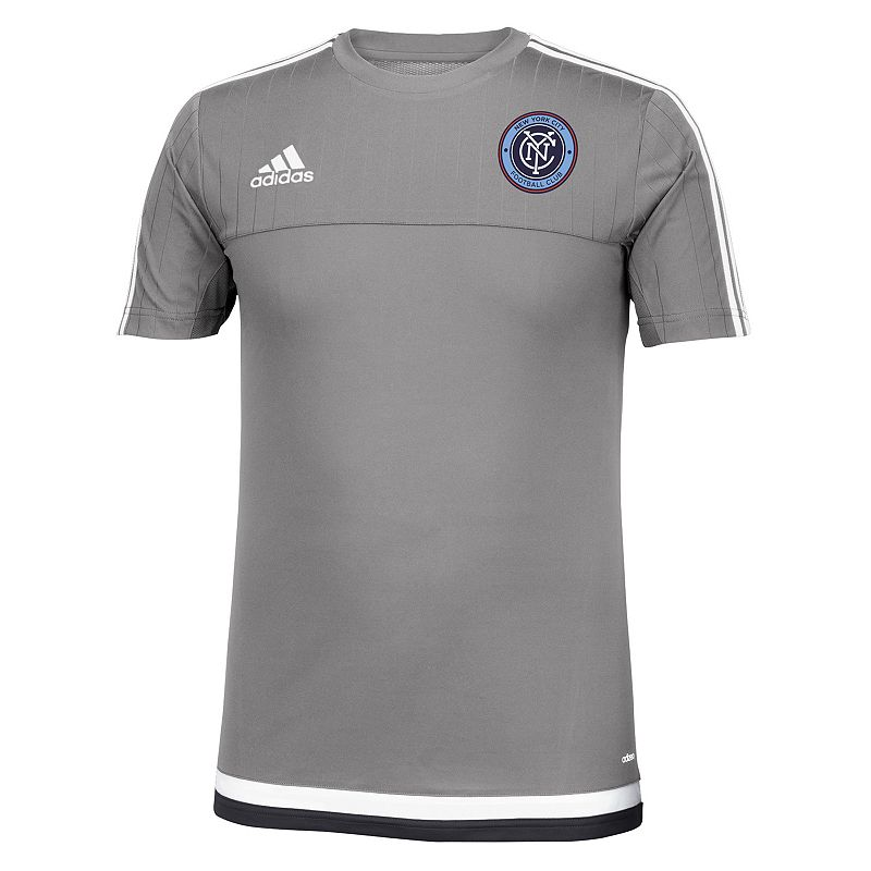 Men's adidas New York City FC Primary Sponsor climalite Training Top