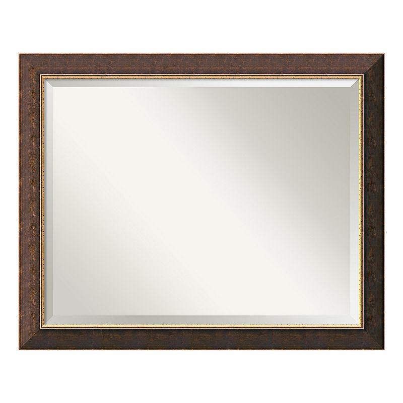 Old World 32'' x 26'' Wall Mirror