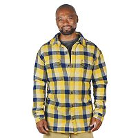 Men's Stanley Plaid Fleece-Lined Flannel Shirt Jacket