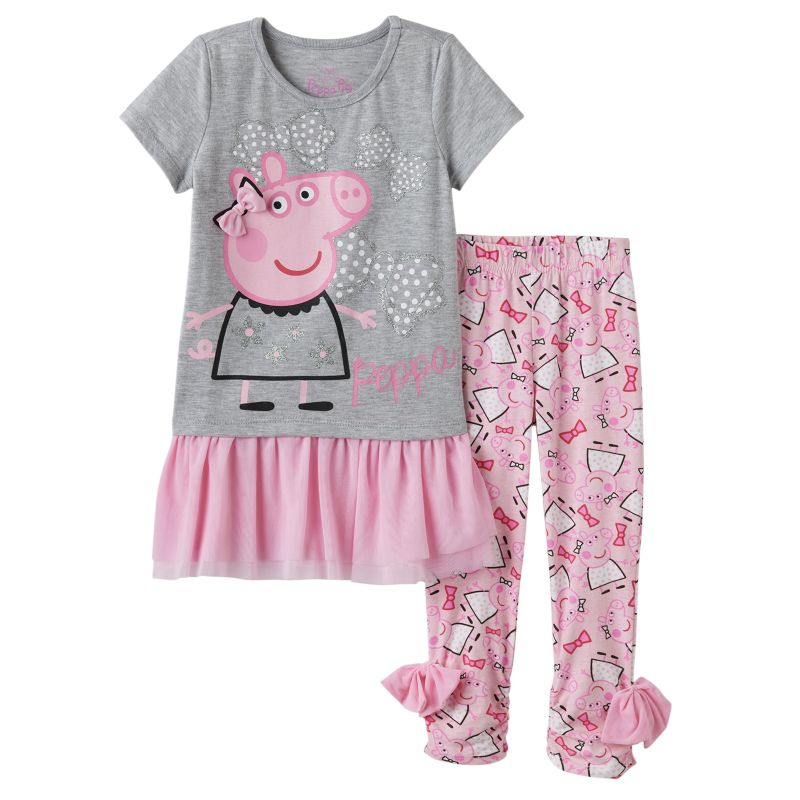 Cotton Skirt Leggings Set | Kohl's