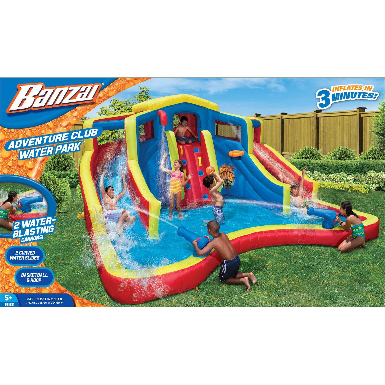 Banzai Adventure Club Inflatable Waterpark + $10 Gift Card + $90 Kohls Cash