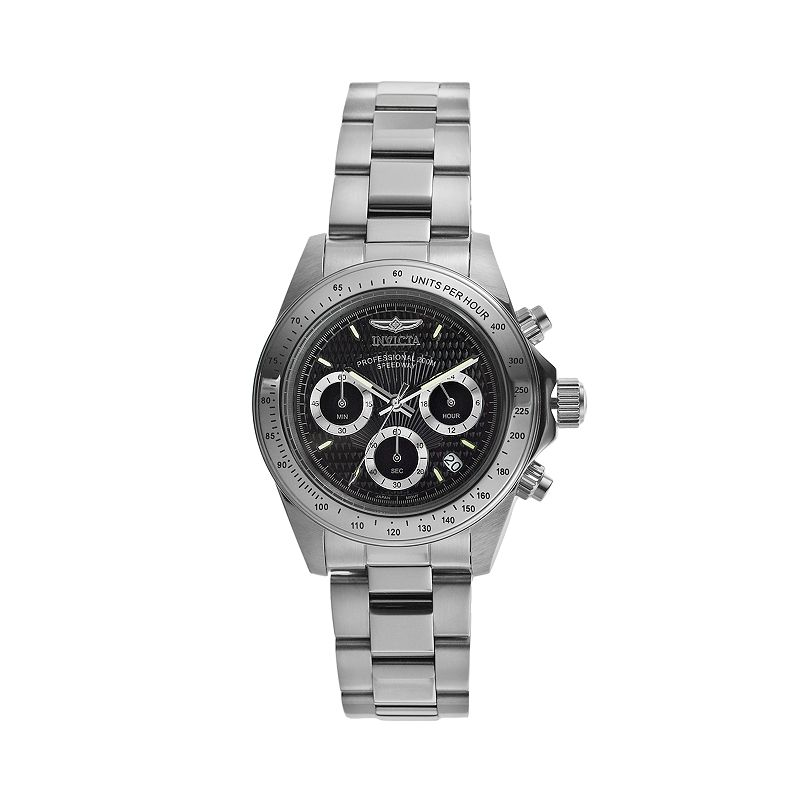 Invicta Men's Signature Stainless Steel Chronograph Watch