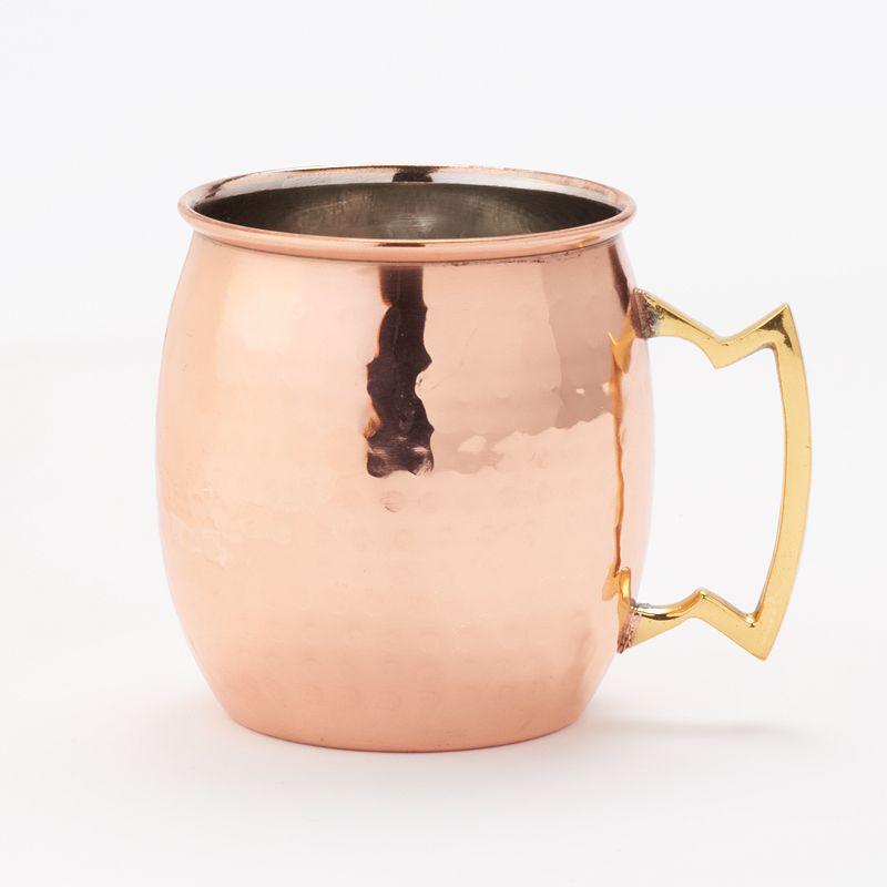 Jodhpuri Hammered Copper Moscow Mule Mug