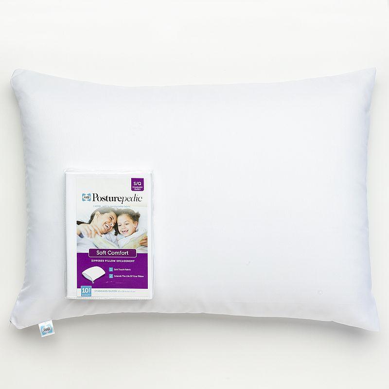 Sealy Posturepedic Soft Comfort Pillow Protector - Standard / Queen