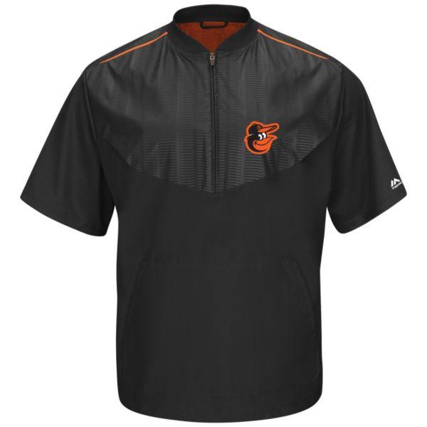 Men's Majestic Baltimore Orioles On-Field Cool Base Training Jacket
