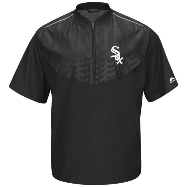 Majestic Chicago White Sox On-Field Cool Base Training Jacket - Men