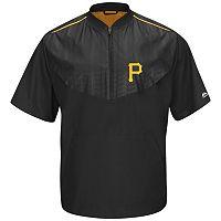 Men's Majestic Pittsburgh Pirates On-Field Cool Base Training Jacket