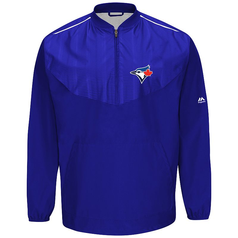 Men's Majestic Toronto Blue Jays On-Field Cool Base Training Jacket