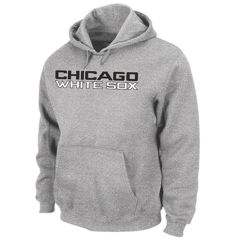Men's Majestic Chicago White Sox .300 Hitter Fleece Hoodie