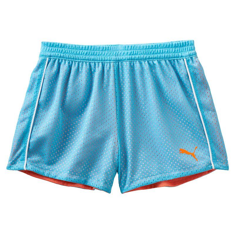 Girls 7-16 PUMA Double Mesh Shorts